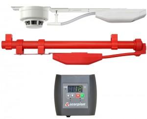 Scorpion detector testing units