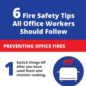 Office Fire Safety Infographic by Fire Depot
