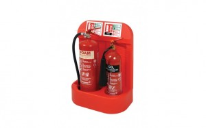 Fire extinguisher for flats