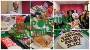 Let them eat cake.... for MacMillan!