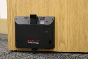 Employ a Firechief Doorwarden to monitor fire doors