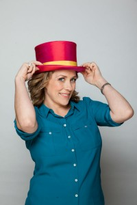 HATS ON FOR CHARITY AT FIRE DEPOT