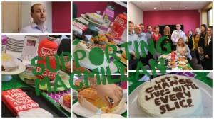 Let them eat cake.... for MacMillan!