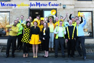 Wear Yellow for Marie Curie Day