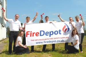 Fire Depot Sponsors Charity World Record Rugby Attempt