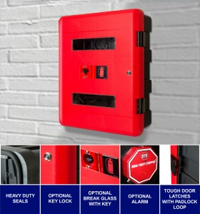 Protect your fire extinguishers from the elements