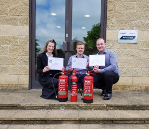 TEAM TRAIN TO DELIVER BEST EXTINGUISHER ADVICE