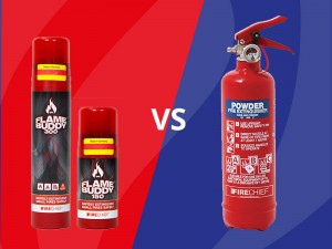 Firechief Flame Buddy VS Firechief 600g ABC Powder Extinguisher – which is best?