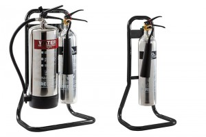 The 35kV Di-electric test and the portable fire extinguisher