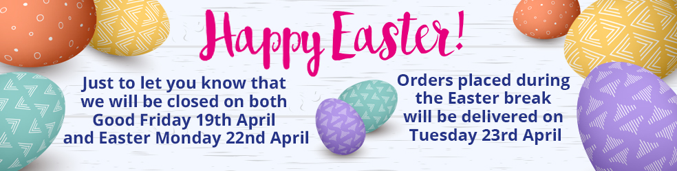 Easter opening hours/delivery dates