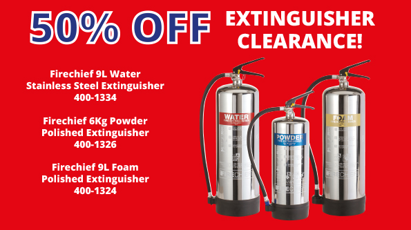 Extinguisher Clearance