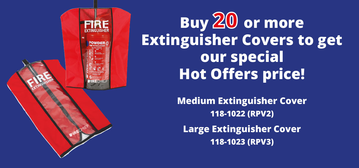 Firechief Medium and Large Extinguisher Covers Hot Offer 2019