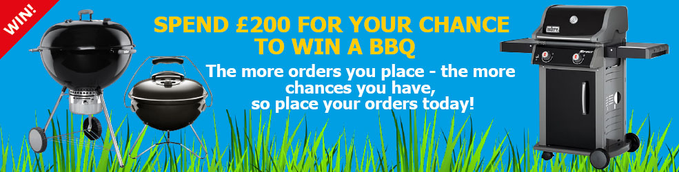 Win a barbeque in July and August
