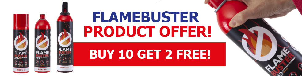 New Flamebuster offer - July 2019