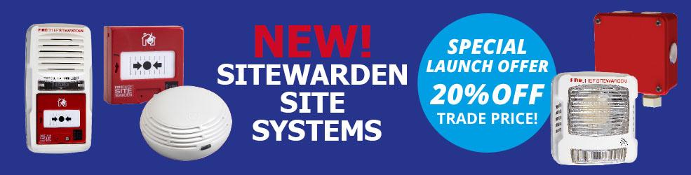 Firechief Sitewarden RF launch offer