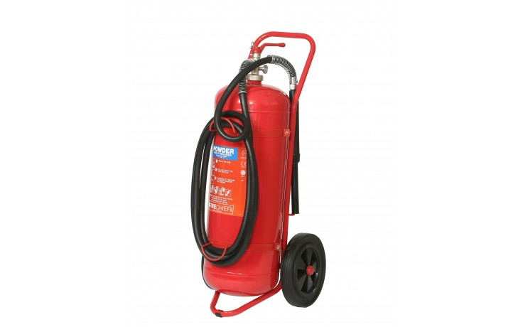 50kg Powder Wheeled Fire Extinguisher