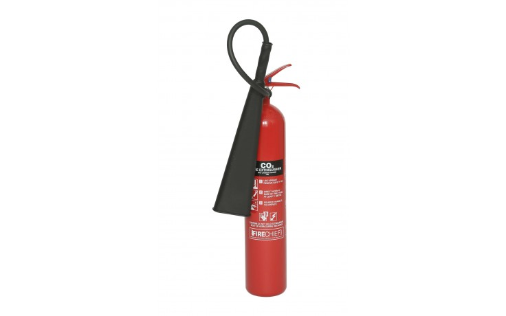5 kg Steel Alloy CO2 Fire Extinguisher
