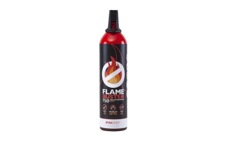 Firechief Flamebuster 750ml Aerosol Extinguisher