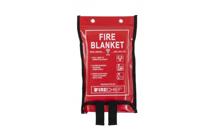 1.2m x 1.2m Firechief Fire Blanket Soft Case (SVB2/K40)
