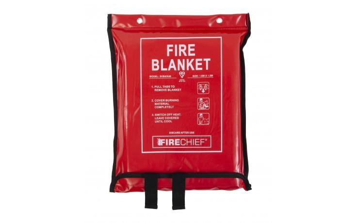 1.8m x 1.8m Firechief Fire Blanket Soft Case (SVB4/K40)