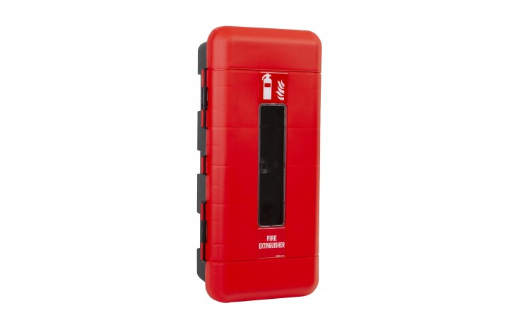 Medium Firechief Single Fire Extinguisher Cabinet - 9kg/ltr