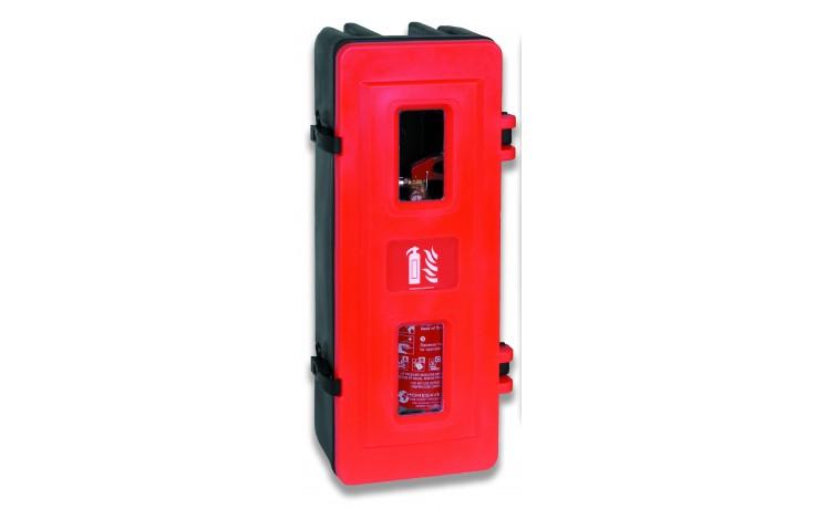 Single extinguisher cabinet