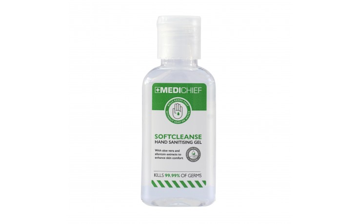 SoftCleanse Hand Sanitising Gel – 50ml – Pack of 6