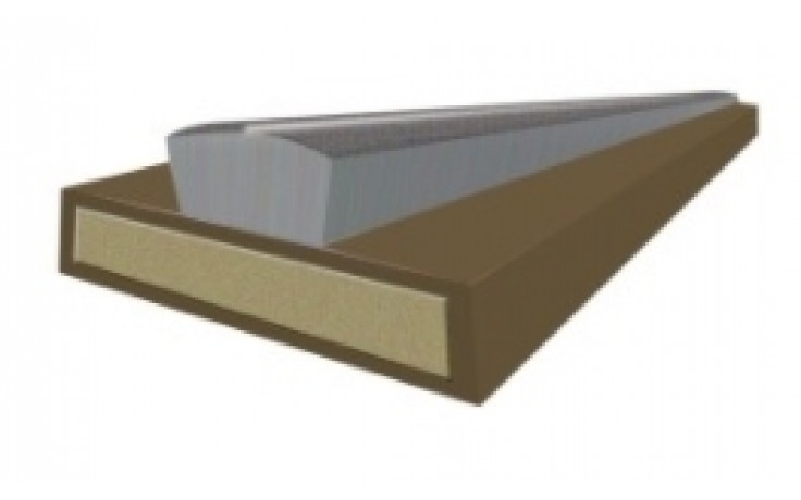 10mm Intumescent fire and smoke seal - brown