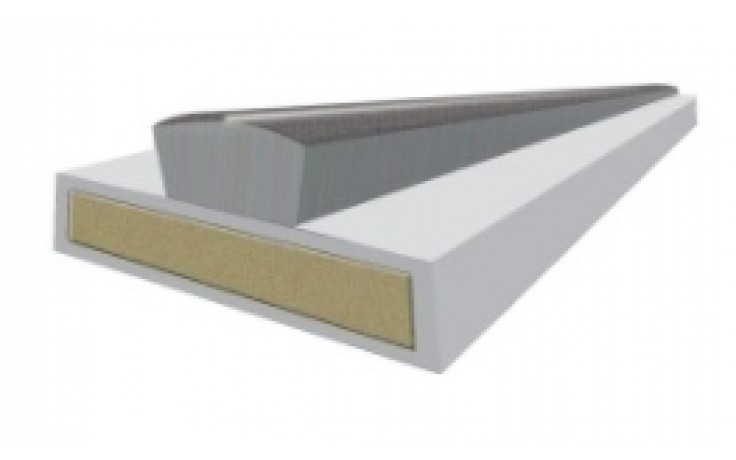 15mm Intumescent fire and smoke seal - white