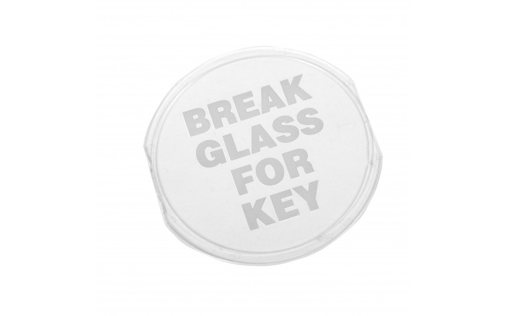 Replacement plastic panel for Keybox