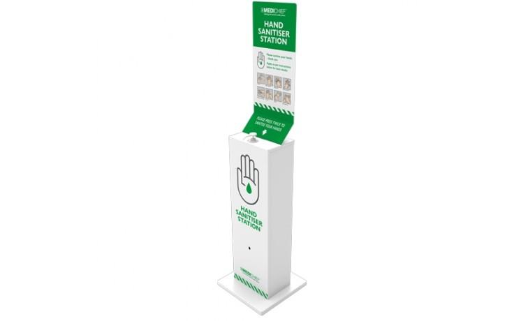 Medichief Floor Standing Hand Sanitising Station