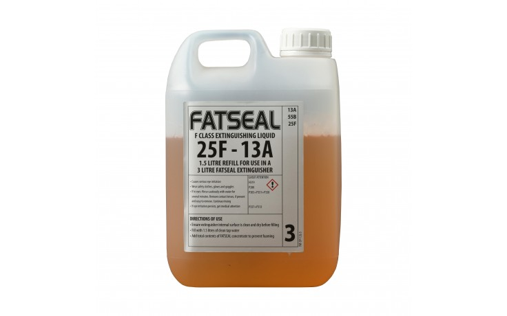 1.5L Firechief XTR Wet Chemical refill for 3L Extinguisher