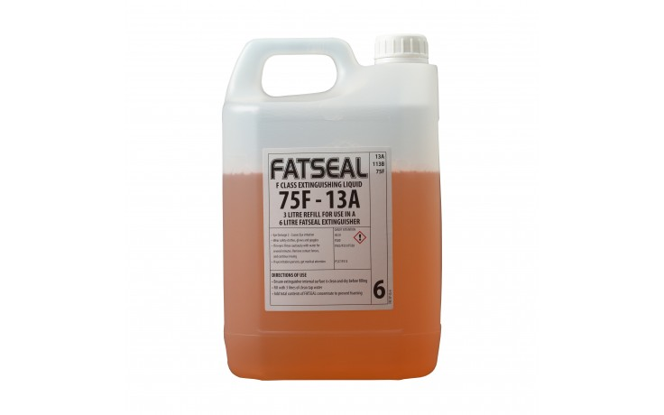 3L Firechief XTR Wet Chemical refill for 6L Extinguisher