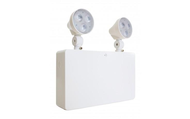 Firechief 2x3W IP20 LED Emergency Twinspot