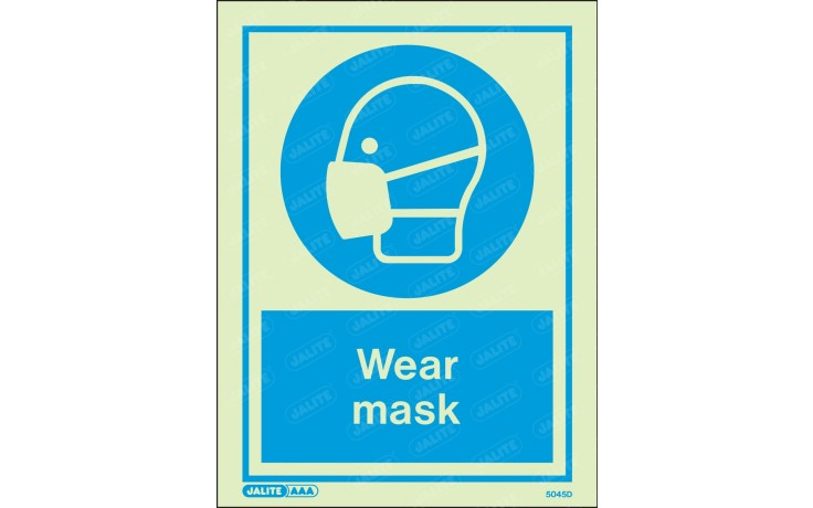 WEAR MASK SIGN