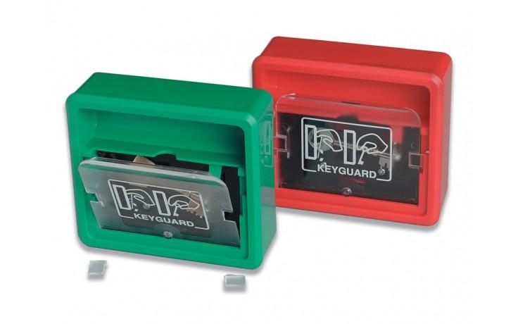 Red key guard box