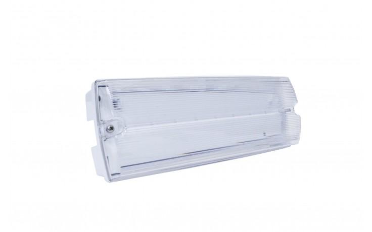 Firechief 2.5W LED Emergency IP65 Bulkhead Switchable
