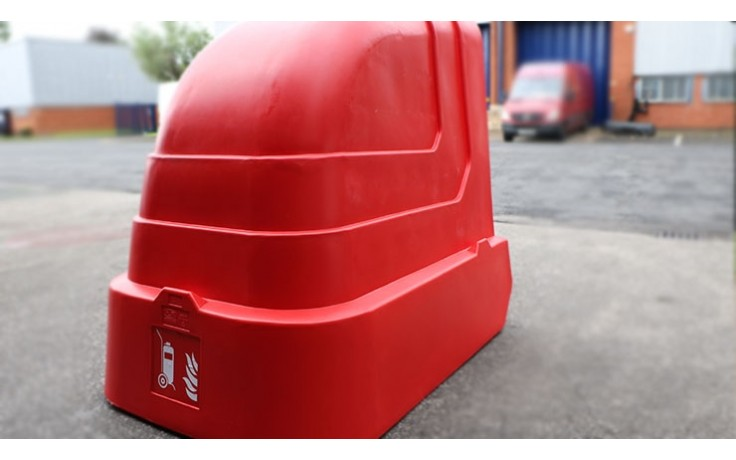 Wheeled Extinguisher Shelter