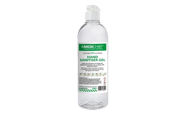 Medichief Hand Sanitiser Gel 500ml