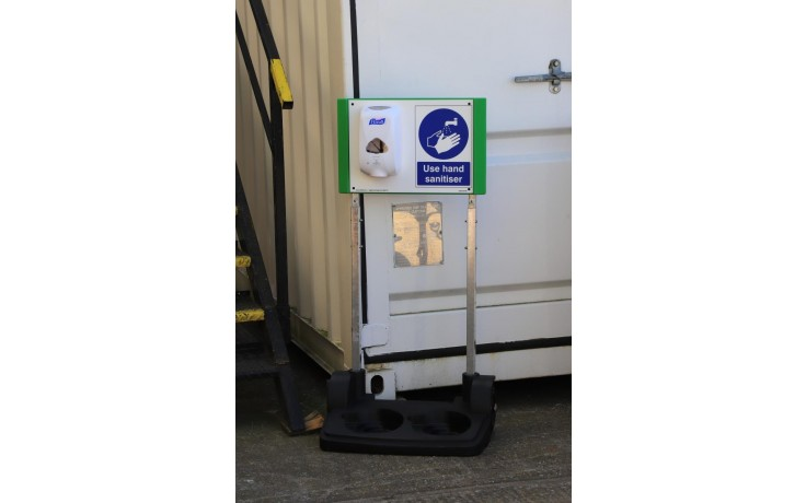 Mobile Hand Sanitiser Station (without dispenser)