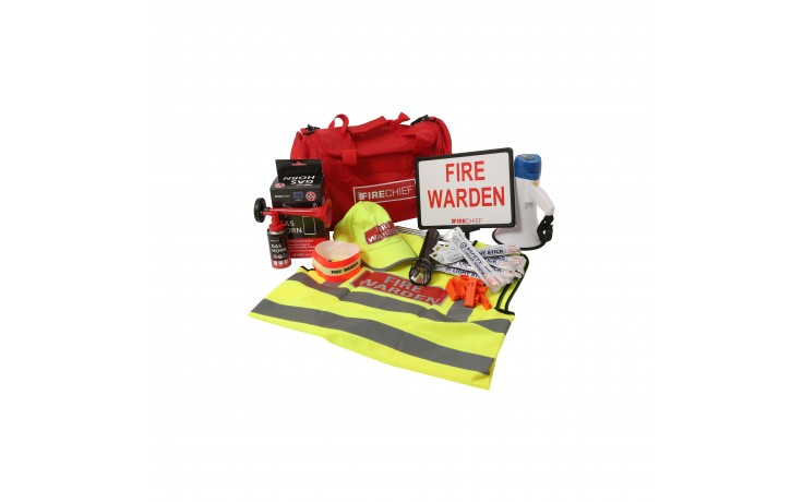 Premium fire warden kit