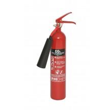 2 kg Steel Alloy CO2 Fire Extinguisher