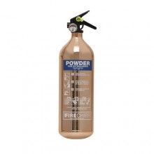 Copper 1818 Polished 2Kg Powder Extinguisher