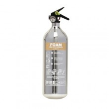 Chrome 1818 Polished 2L Foam Extinguisher