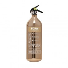 Copper 1818 Polished 2L Foam Extinguisher
