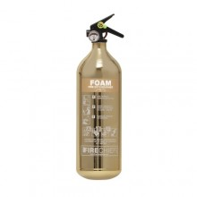 Gold 1818 Polished 2L Foam Extinguisher