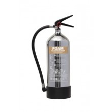 Chrome 1818 Polished 6L Foam Extinguisher