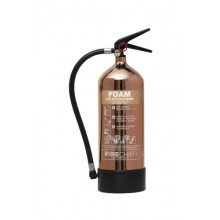 Copper 1818 Polished 6L Foam Extinguisher