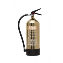Gold 1818 Polished 6L Foam Extinguisher