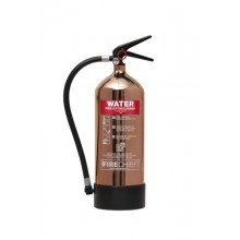Copper 1818 Polished 6L Water Extinguisher